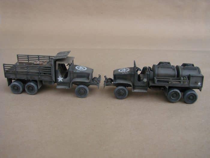 GMC CCKW-353 Fuel & Dump Truck rebuild, 1/72, Hasegawa DSC03039