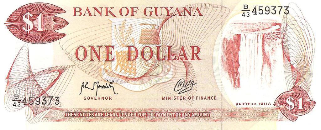 1 dolar de Guayana año ?¿ Image