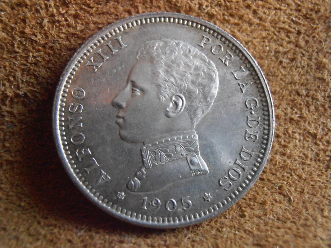 2 Pesetas 1905. AlfonsoXIII. SM V P4170019