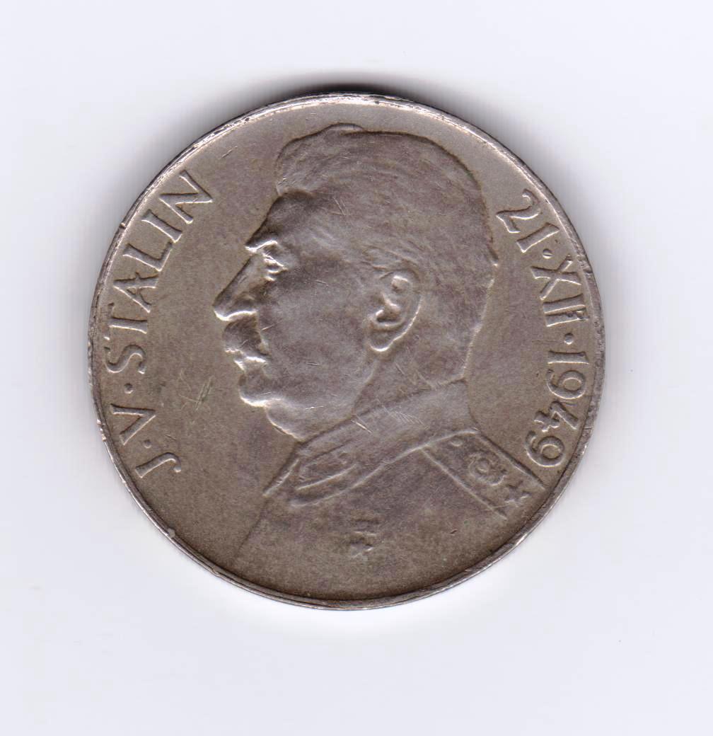 100 coronas, Checoslovaquia 1949 (Stalin) Stalin