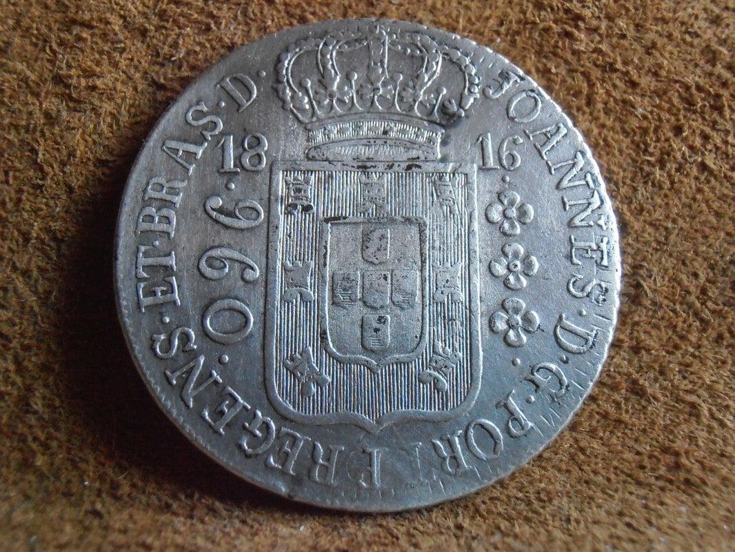 reis -  960 reis  del 1816 Juan VI P5090027