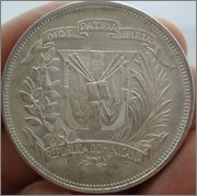 1 Peso 1952  Rep.Dominicana Image