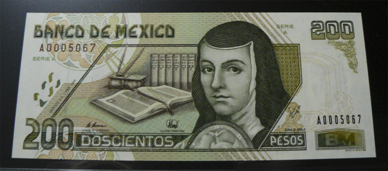 200 Pesos México, 1995  Mx109aa