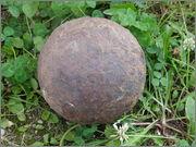 topovska krogla nekje iz polovice 19. stoletja Tur_ka_topovska_krogla