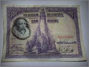 100 Pesetas 1928 (Cervantes) WP_20140321_003