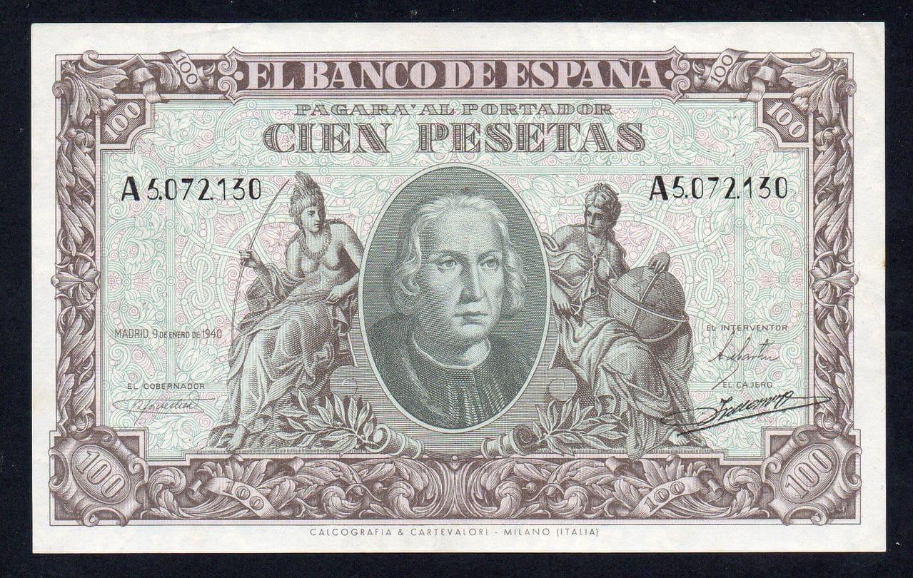 100 pesetas 1940 (serie A) 1940_100_PESETAS_SERIE_A_SIN_CIRCULAR_A