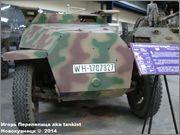 Немецкий средний бронетранспортер SdKfz 251/7  Ausf D,  Musee des Blindes, Saumur, France 251_7_Saumur_003