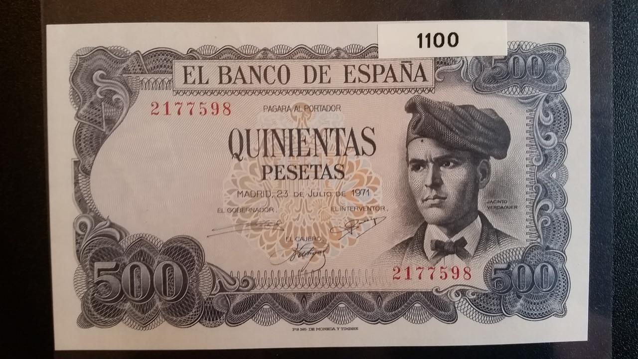 Colección de billetes españoles, sin serie o serie A de Sefcor pendientes de graduar 20161217_121143