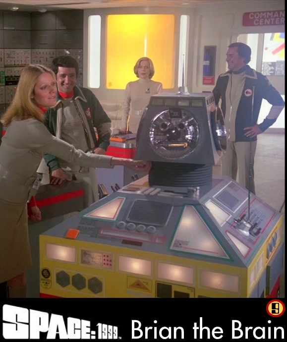 SPACE: 1999 & Gerry Anderson Brian_the_Brain_card