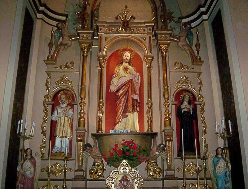 LA INFLUENCIA DE EUROPA EN NUESTRAS RAICES CRISTIANAS. AA24_ALTAR_DEL_SAGRADO_CORAZON_EN_NAVE_SECUNDARI