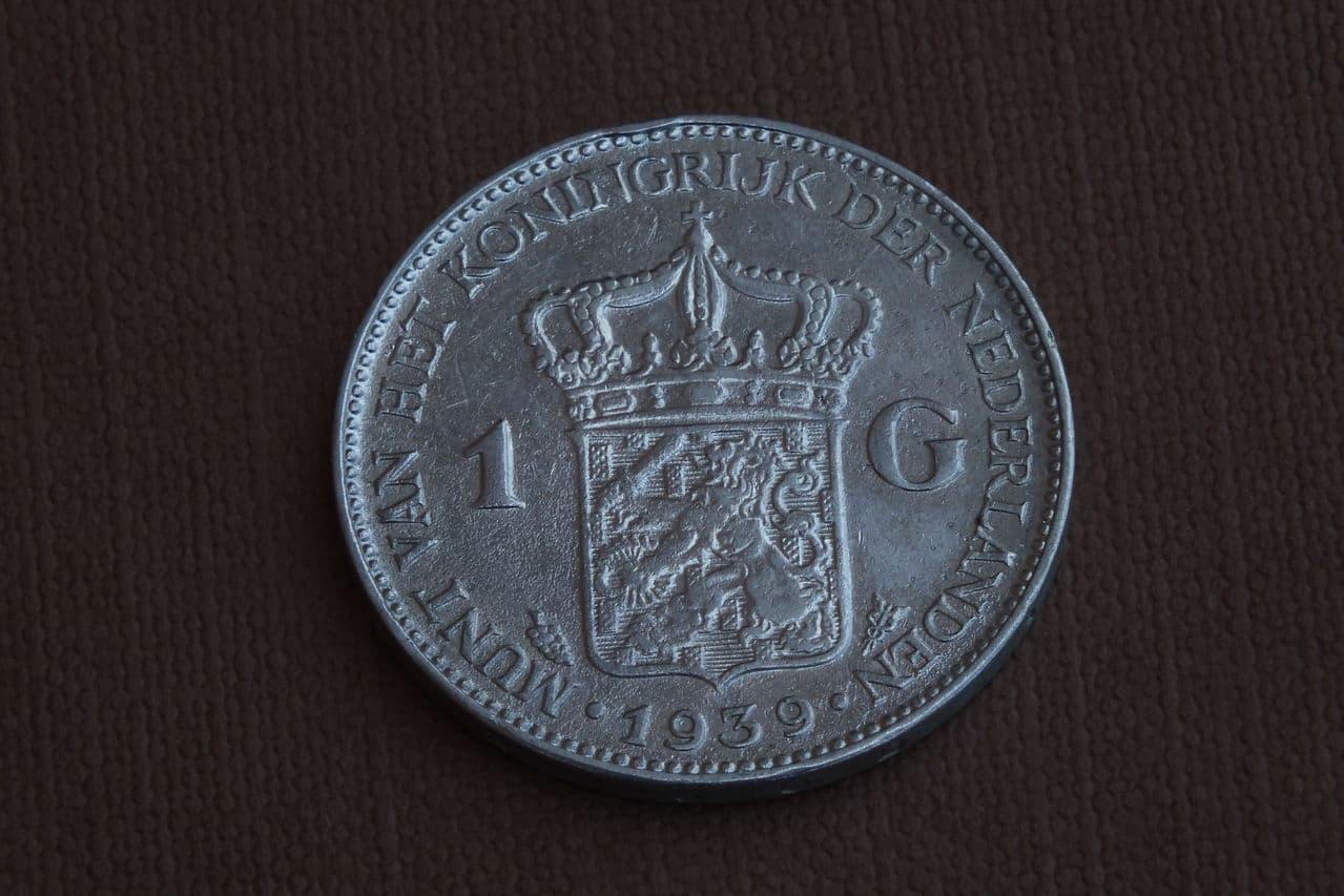 1 Gulden. Holanda. 1939. Utrecht DSCF1425