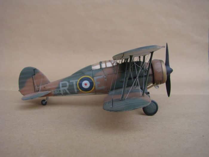 Gloster Gladiator Mk.I, Matchbox/Revell, 1/72 DSC03050
