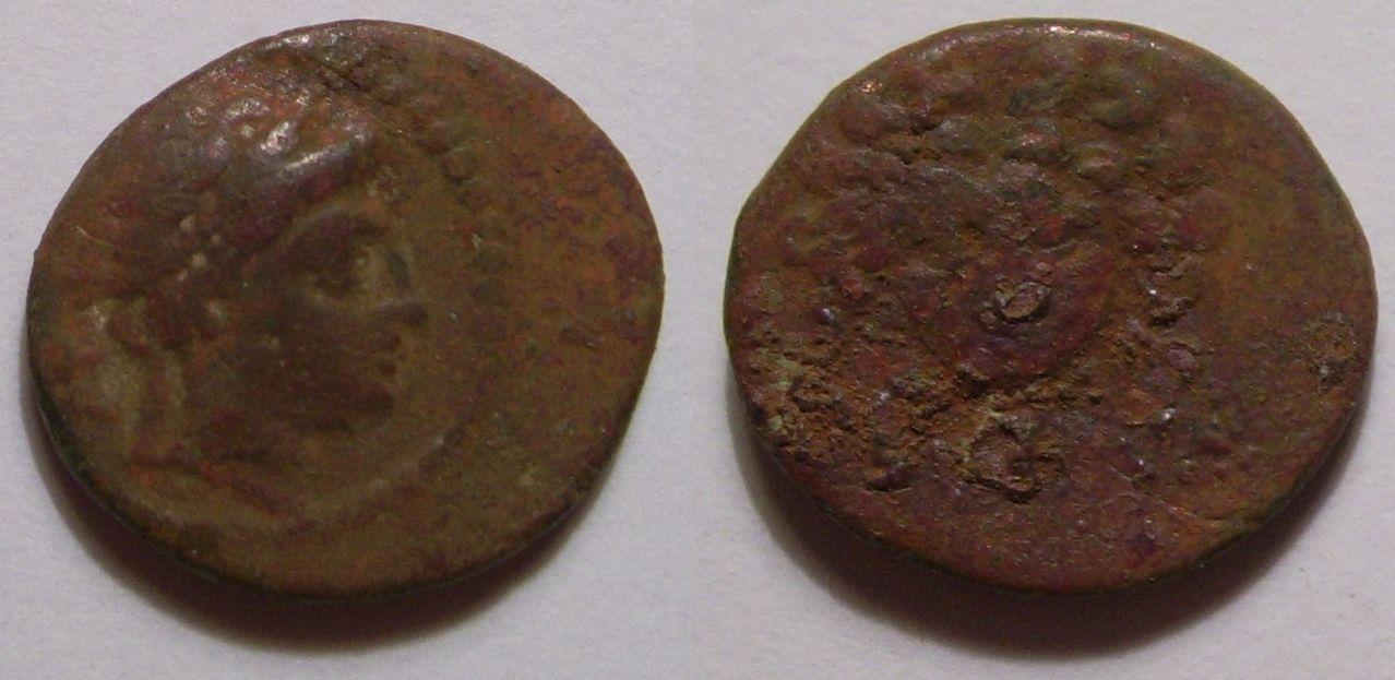 AE13 de Mallus. Cilicia. Cabeza de Gorgona Image