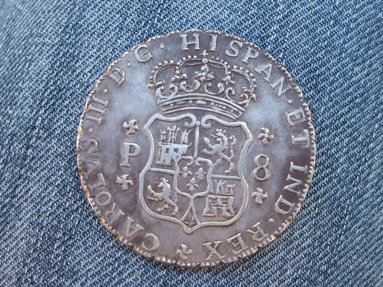 """8 reales """"columnarios"""" 1768.  Carlos III. Méjico. - Página 2 017"""