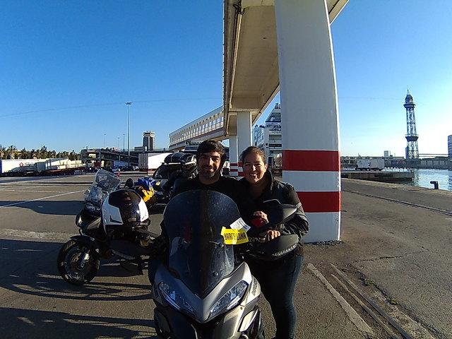 Fomos dar uma volta de barco....em Veneza com passagem pelo berço (da Ducati) 20160826_082120