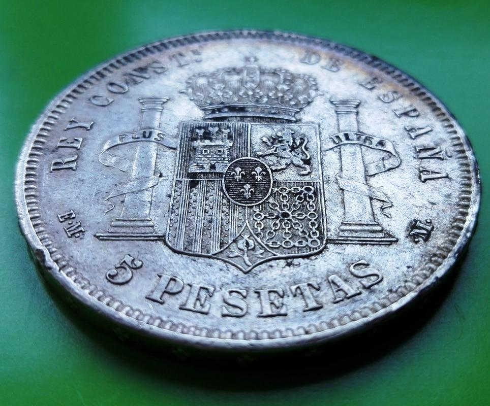 5 pesetas 1878. Alfonso XII. EMM 5_pts_1878_7