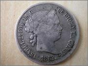 4 reales 1862 Madrid DSCF3063