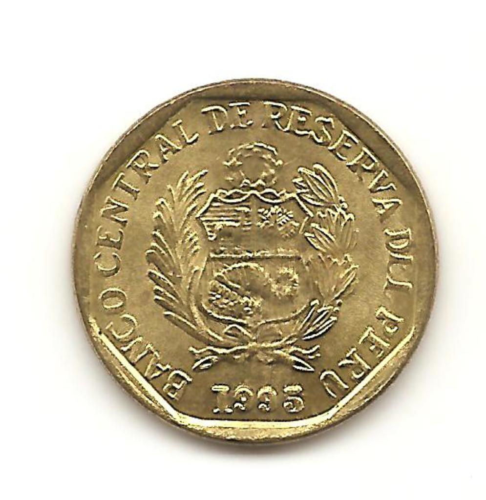 5 centavos de Perú año 1995 Image
