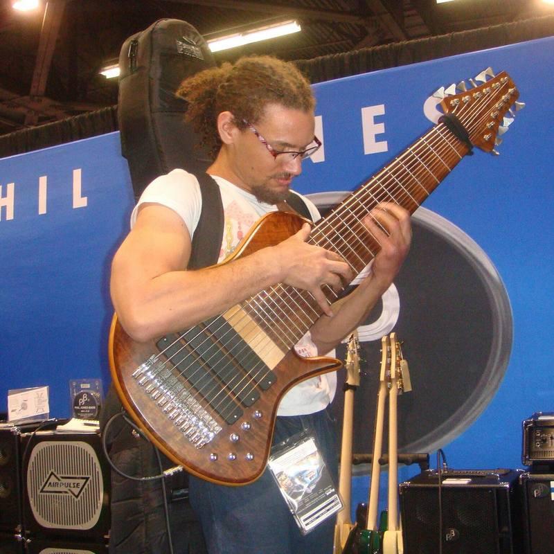 Scott Fernandez - 12 String Bass 1500952_10203027563147033_218469821_o