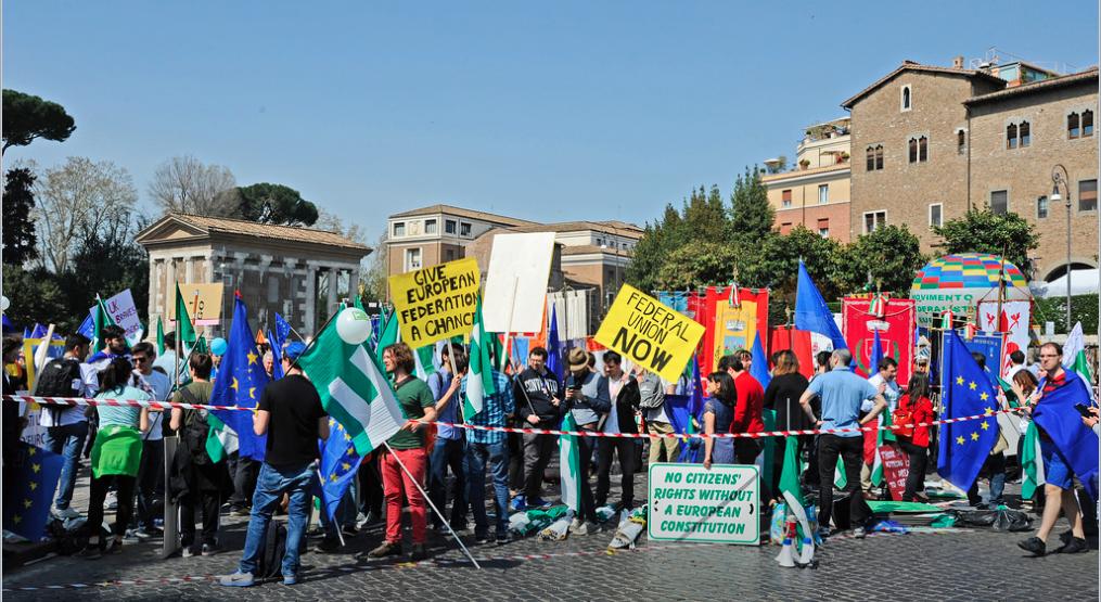 25 Marzo 2017 - Roma blindata per ricordare una ricorrenza. Roma_sabato_25_03_1207