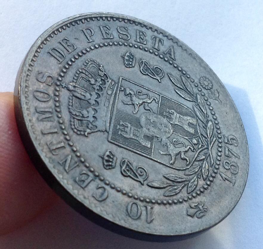 10 céntimos 1875. Carlos VII. Oñate IMG_3414