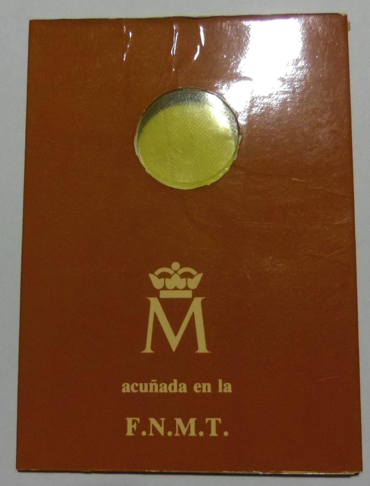 100 Pesetas. Juan Carlos I. Madrid. 1982. Cartera de Presentación. IMGP5196