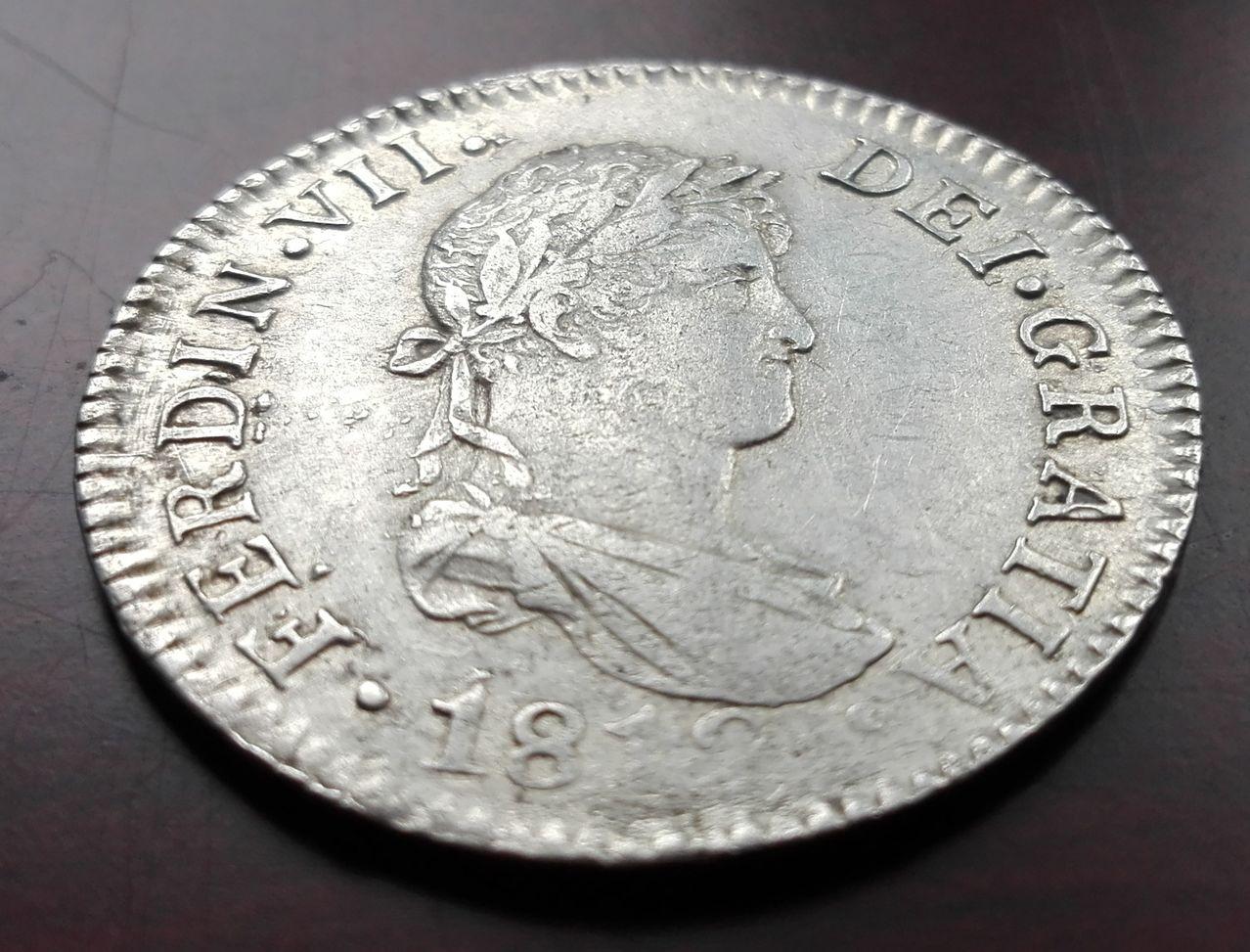 2 reales 1812 Fernando VII, Cádiz 2_reales_1812_cadiz_2
