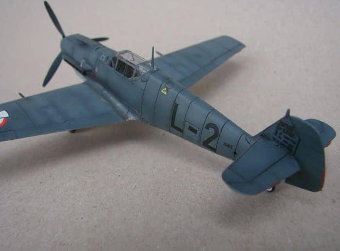 Bf-109E-3VVKJ, Tamiya, 1/72 DSC03072