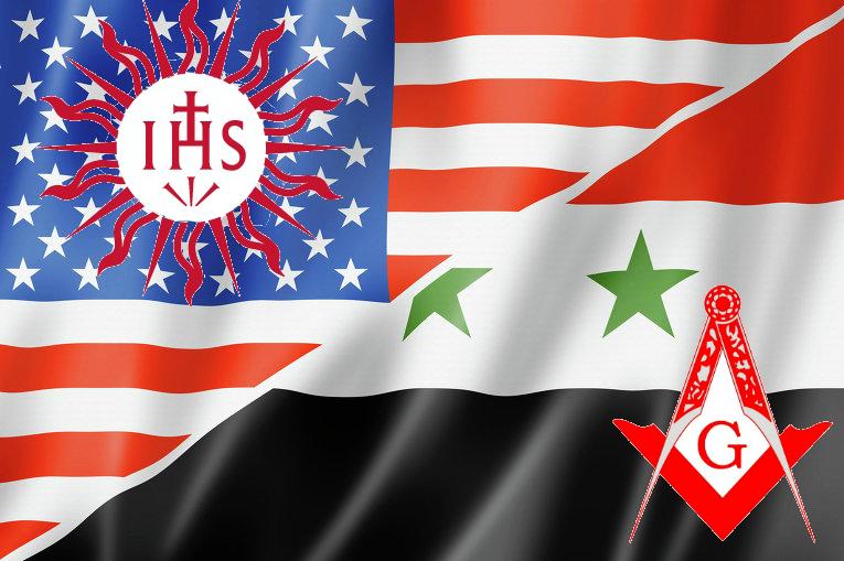 ¿Es la Guerra en Siria una batalla entre la Orden de los Jesuitas y el Gran Oriente de la Masonería? IHSUSAVSP2_GOSIRIA