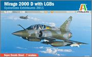 1/48 Italeri Mirage 2000D Litas2707