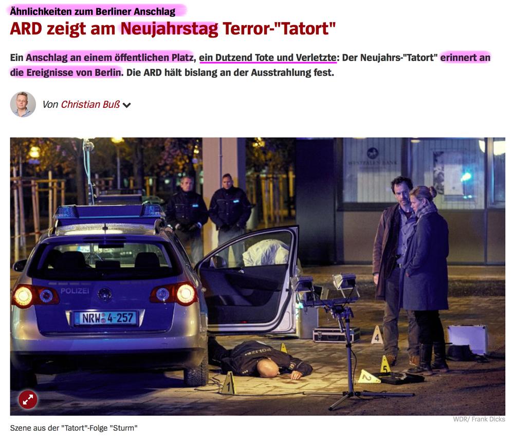 """Truck Attack – """"Anschlag"""" in Berliner Weihnachtsmarkt Tat_ort"""