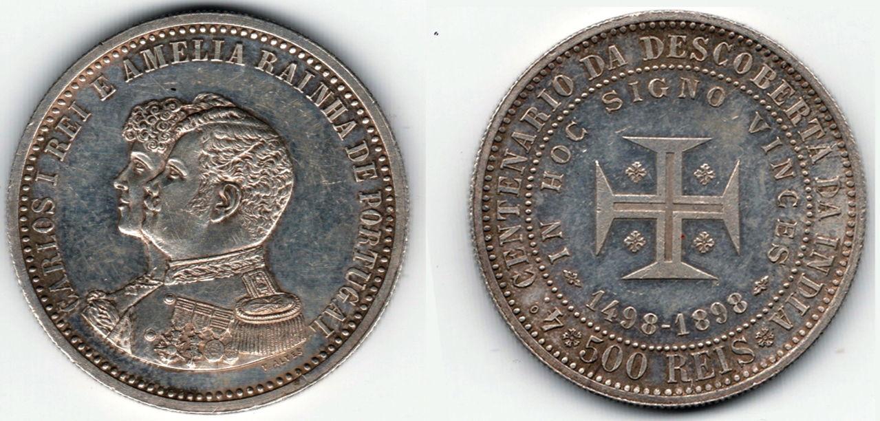 500 reis 1898- Carlos I y Amelia- Portugal 500_reis_1898