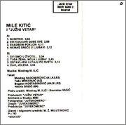 Mile Kitic - Diskografija Mile_Kitic_1992_Kass_Unutrasnja