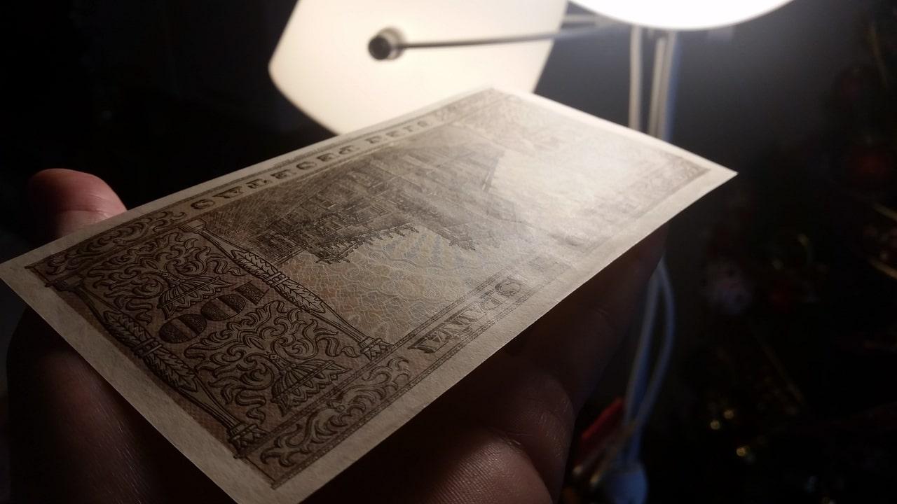 Colección de billetes españoles, sin serie o serie A de Sefcor pendientes de graduar 20161217_120426