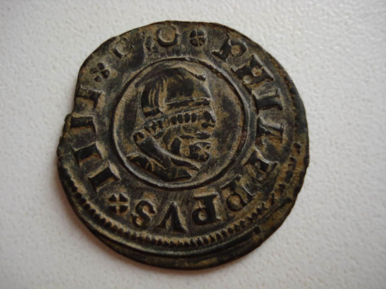16 maravedís de Felipe IV, 1662 Madrid. Monedas_014