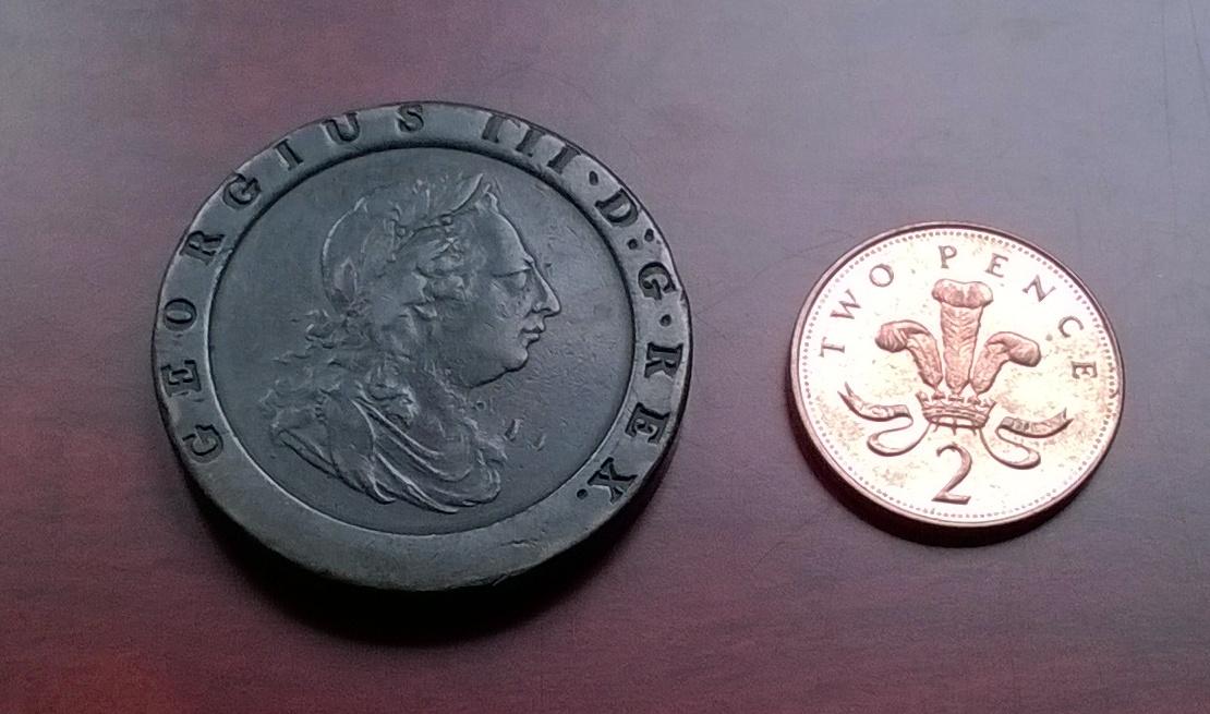 1797 - 2 peniques 1797 Gran Bretaña WP_20160211_014