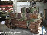 "Немецкий тяжелый танк  Panzerkampfwagen VI  Ausf E ""Tiger"", SdKfz 181,  Deutsches Panzermuseum, Munster Tiger_I_Munster_011"
