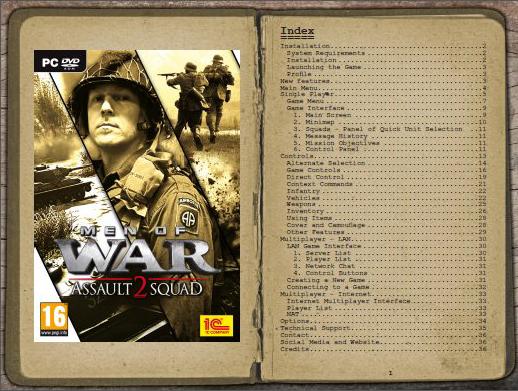 Manual Men Of War Assault Squad 2 (en Español) Sshot_1