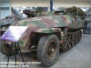 Немецкий средний бронетранспортер SdKfz 251/7  Ausf D,  Musee des Blindes, Saumur, France 251_7_Saumur_002