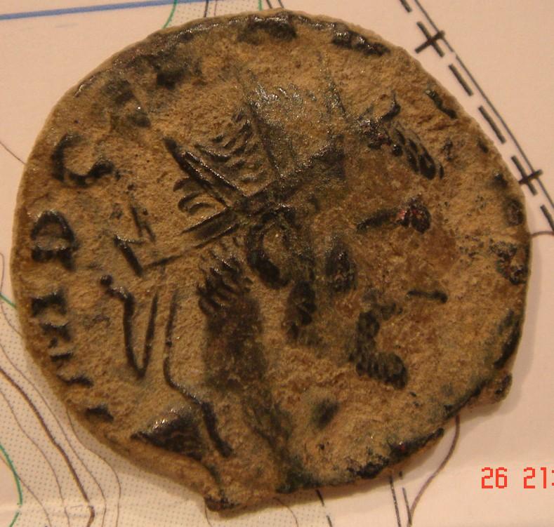 Antoniano de Claudio II. ANNONA AVG. Roma. Dsc04122