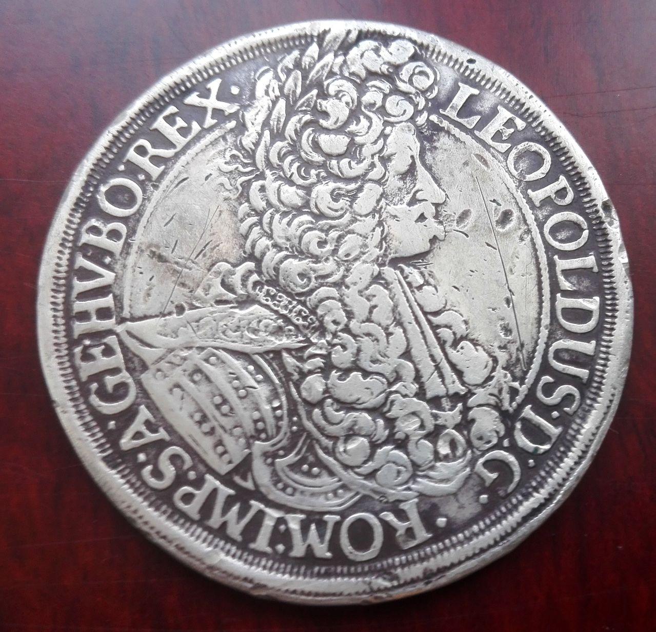 1 Thaler Austria 1698  Thaler_1698