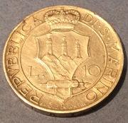 San Marino 10 liras 1932 plata IMG_1767