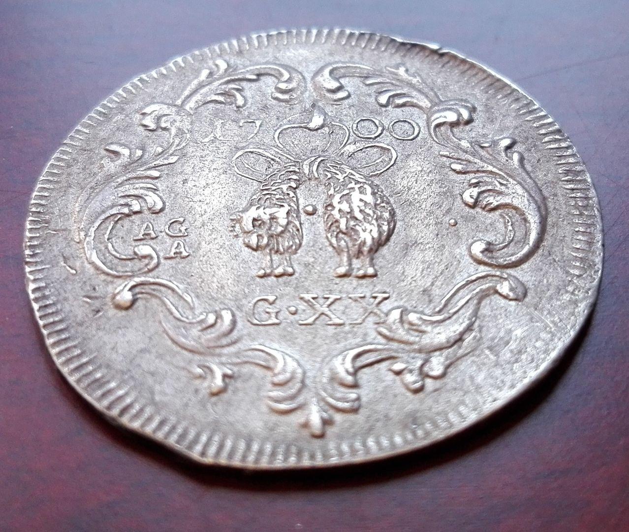 20 grana 1700 Napoles, Carlos II (dedicada a joris) 20_grano_1700_4