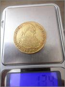 4 ESCUDOS CARLOS IIII 1791 SAM_4991
