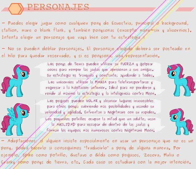MANECLIPSIX RESISTANCE - El juego foral definitivo -  Text_Personajes