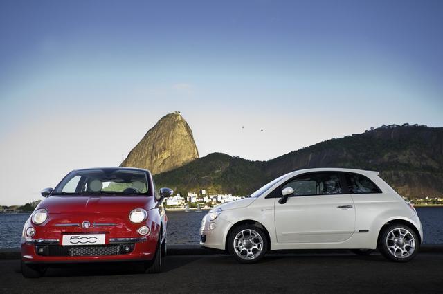 Fiat 500 in Brasile. 500_in_Rio