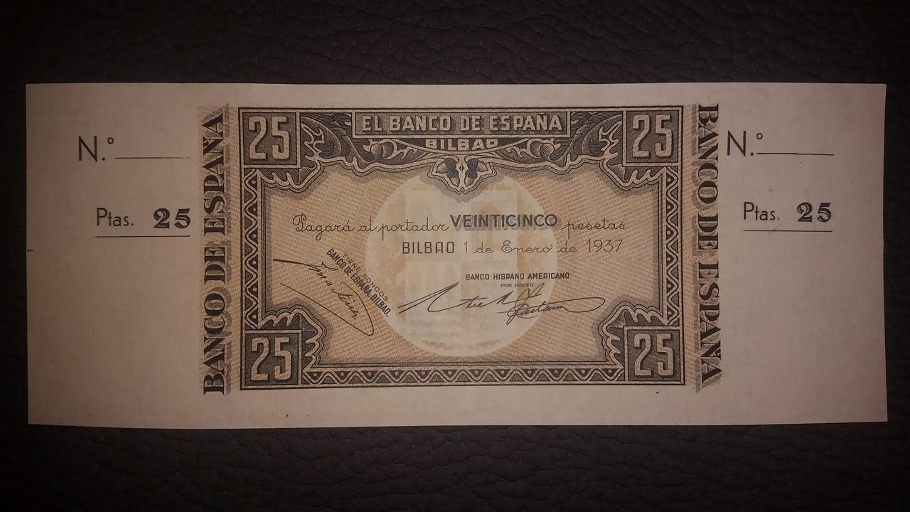 Colección de billetes españoles, sin serie o serie A de Sefcor pendientes de graduar - Página 2 20170217_204320