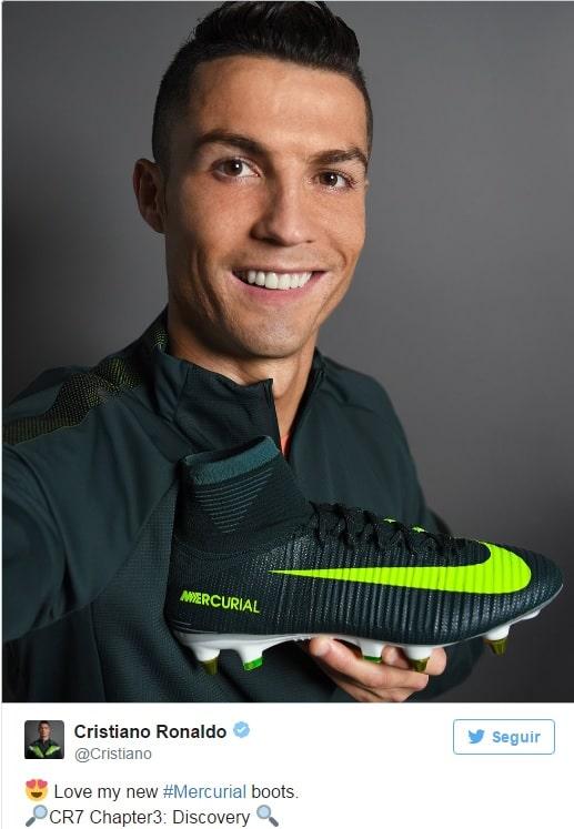 Esto Es Lo Que Gana Cristiano Ronaldo Por Aparecer En La Cuenta De Twitter De Nike Sin_t_tu_SDDSlo