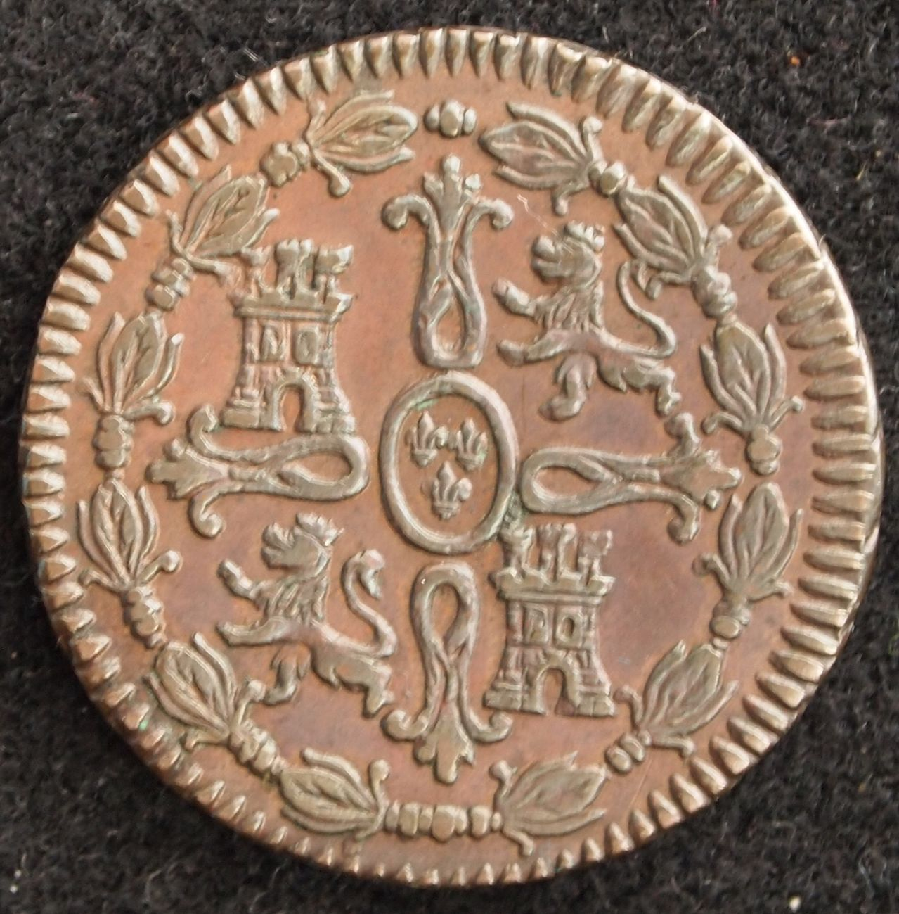 8 maravedis fernando VII 1816 2