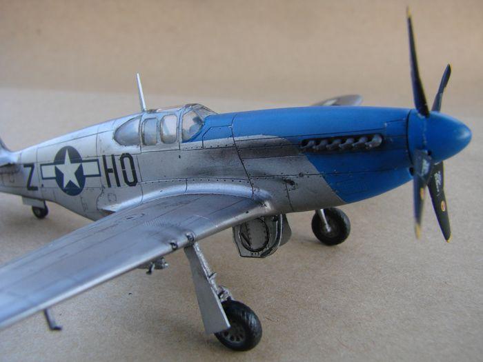 Mustang x2 P-51B Revell & P-51D Tamiya, 1/72 DSC09771